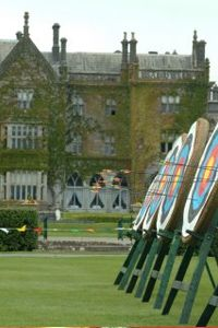 Archery courses at Adare Manor, Limerick, Ireland