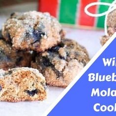 Wild Blueberry Molasses Cookies is another recipe that might be an acquired taste. Maybe it's a dessert you will be able to sink your teeth into.