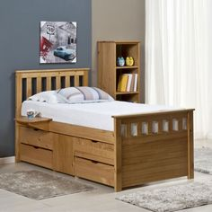 Low Prices | Verona Ferrara Captains Storage Bed | Free Delivery
