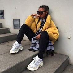 Tendência Chunky Sneakers, chunky sneakers, dads sneakers, tendência tênis do papai, chunky sneakers trend, trend chunky sneakers, tênis chunky, tênis chunkys, chunky tênis, tênis balenciaga, balenciaga, balenciaga triple s