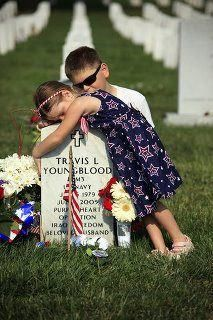 its hard losing someone especially someone who gave up their life so you could live in a country that had freedom