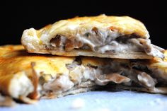 Empanada de setas y queso azul – Receta