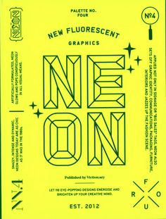 Palette: 04: Neon - New Fluorescent Graphics (Palette Series)