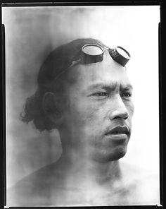 [South Seas: Male Portrait]  Walker Evans