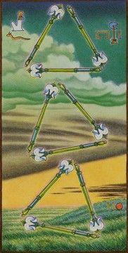 Tarot Card Decks, Tarot Cards, Nine Of Wands, Fortune Telling, Crystal Ball, Egyptian, Travel, Jasmine, Essential Oils