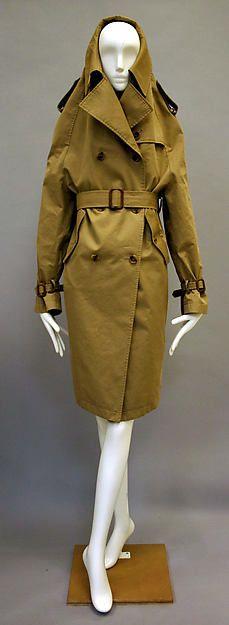 Maison Martin Margiela   Trench coat   French   The Met