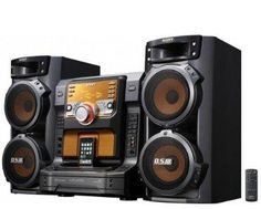 Sony 560 Watts Muteki Hi-Fi Stereo Shelf Audio System with Integrated iPod Dock, 5 Disc Play Exchange CD Changer, AM/FM Receiver with 30 Station Presets, Game Sync Mixing, 3 Analog Audio In Jacks, 2 Microphone Inputs For Duet Singalong & 3 Way Bass Reflex Speakers with Dual 6.75″ Woofers | Best TV Brands