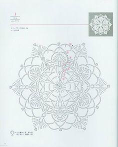 Tamborējumu shēmas (crochet schemes)