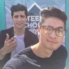 Shadowhunters ... Matthew Daddario and Harry Shum Jr as Alec and Magnus
