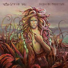"steve vai modern primitive   STEVE VAI lanza ""Modern Primitive - Passion And Warfare 25th ..."