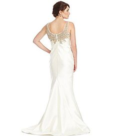 0aac1454f20 Terani Couture Beaded Mermaid Gown  Dillards. Lauren Clark · Wedding Dresses