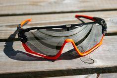 Jawbreaker Black Orange Chrome Iridium