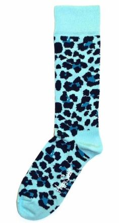 Blue Animal Print Womens Dress Sock – Happy Socks « ShoeAdd.com – More Shoes For You Every Day