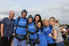 Stephen Messham, Charlotte Underwood,  Katie Gibson, Matt Darby, Kathleen Butel, Pavlina Hrkalova, Jane Mehta, and Dan Lord took their charitable ways to the extreme by participating in a Make-A-Wish Sky Dive. Together, the London team raised over £3200 for the charity for this task alone. #DaytoDo #Jack75