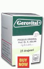 Gerovital Tablets- from me is very cheap,by e-mail you can order