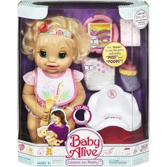 One Day Giveaway! Ends at 10pm Tonight!! ((OK folks, last giveaway from the holidays. I promise!)) Baby Alive. Well that brings back some memories. I had one of the original Baby Alive dolls-I won't mention when that was. It is so funny sometimes to see today's kids enjoying the same toys I did. But then... Keep Reading