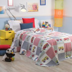 1000 images about boutis on pinterest patchwork ps and - Patchwork colchas juveniles ...