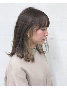 【LIV】インナーカラー ロブ