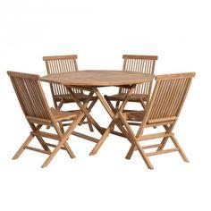 Komfortable, Flexible Stühle, Kombiniert Mit Einem Praktischen Tisch Mit  Tollem Design Machen Die Holzmöbelgruppe Seattle Aus. Hochwertige  Verarbeitung Und ...