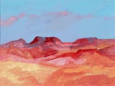 Landscape by Sidney Nolan Australian Painting, Australian Artists, Abstract Landscape, Landscape Paintings, Sidney Nolan, Victoria Art, Ned Kelly, Book Drawing, Indigenous Art