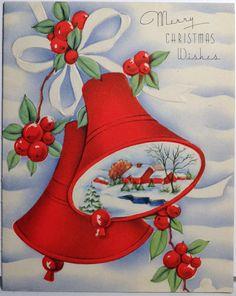 Christmas bell scene.