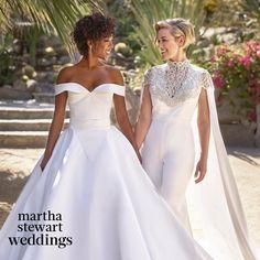 "13.7k aprecieri, 430 comentarii - Martha Stewart Weddings (@martha_weddings) pe Instagram: ""Major congrats are in order for @OITNB's @whododatlikedat + @lomorelli! 😍 We're sharing the first…"""