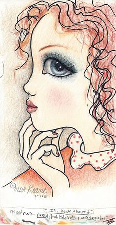 i'll think about it Keane Big Eyes, Margaret Keane, Sad Pictures, Doodle Inspiration, Illustration Art, Illustrations, Eye Art, Canvas Paintings, Famous Artists