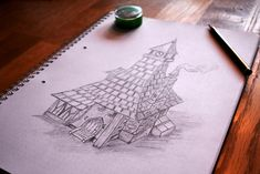 Sketch Tiny House by CroSito on DeviantArt Tiny House, Sketch, Deviantart, Sketch Drawing, Sketching, Sketches