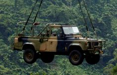 Australian Army Land Rover Perentie 4x4.