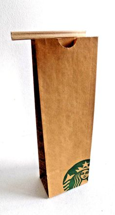 Starbucks Brown Kraft Paper Coffee Tea Gift Party Bags 9.50'' x 3'' x 2'' 177pcs #Starbucks #AnyOccasion