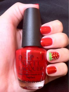 Polish My Pretty Nails: Strawberry Season is Here!