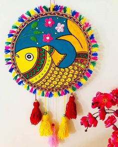 Madhubani Art, Madhubani Painting, Dream Catcher, Paintings, Tags, Instagram, Home Decor, Dream Catchers, Painting Art