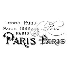 paris_vintazh-600x260.png ❤ liked on Polyvore featuring words, paris, text and quotes