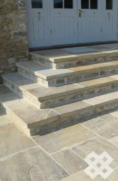 Our Bronte Riven Yorkstone, split by our team of skilled stonemasons at Stone UK
