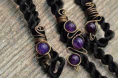 Hey, j'ai trouvé ce super article sur Etsy, chez https://www.etsy.com/fr/listing/244490061/bijoux-de-cheveux-violet-bijoux-de