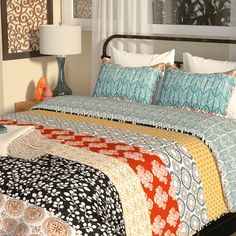 Zebra Print Full Queen Size Jersey Comforter /& Pillow Sham Bed 3-Pc Set