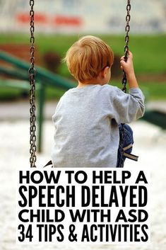 How to help a speech delayed child | Whether you're the parent of a child with nonverbal autism, a teacher looking for speech therapy ideas to help with letter sounds & articulation, or in need of PECS communication resources or help developing WH questions, we have 32 tips & activities! From speech therapy activities to free PECS communication boards for kids with autism to other fun activities for nonverbal children, this is a great resource! #autism #nonverebalautism #ASD #speechtherapy