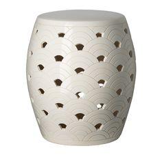 Waves Ceramic Stool