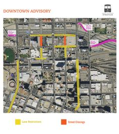 Video+ Story: Streetcar Work Accelerates in Downtown, New Lane Restrictions, Street Closures