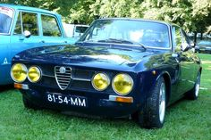 I would pull up my garden chair and just drink-in this beautiful Alfa Romeo 1750 GTV 1970