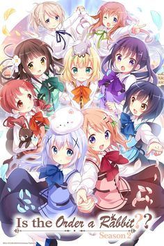 Is the Order a Rabbit? Started this show because I couldn't decide what else to watch. Good for those days when you need something cute and mindless.