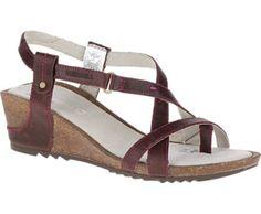 29ccb07738af Merrell Revalli Aura Post Leather Wedge Sandals