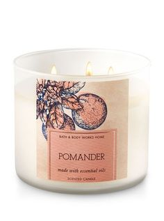 Pomander 3-Wick Candle - Bath And Body Works