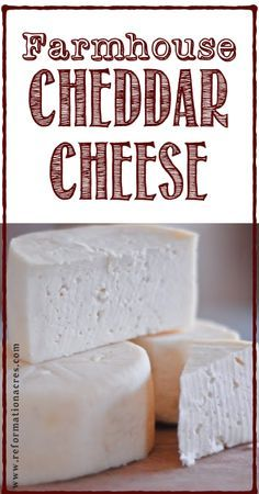 Make your own cheddar! www.stanpacnet.com #cheese #dairy #milk #cheesy #recipe #cheddar #make #home #made #creamy #food #cook