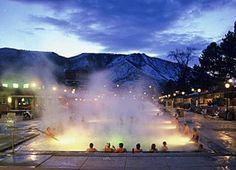 Glenwood, Colorado Hot Springs Pool
