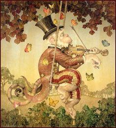 (+1) Потрясающий сказочный сюр Дэниела Мерриама (Daniel Merriam)