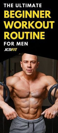 Best Beginner Workout Routine To Get Strong And Build Muscle Use this men's beginner muscle gain routine to build as much muscle as possible.Use this men's beginner muscle gain routine to build as much muscle as possible. Fitness Hacks, Fitness Home, Planet Fitness Workout, Sport Fitness, Muscle Fitness, Fitness Motivation, Mens Fitness Workouts, Fitness Exercises, Health Fitness