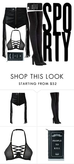 """Sporty"" by saint-germain ❤ liked on Polyvore featuring Diesel, adidas Originals, Coco de Mer and Killstar"