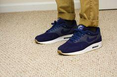 Nike Air Max 1 Blue Cord