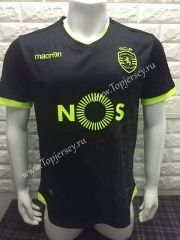 2016-17 Sporting CP Black Thailand Soccer Jersey